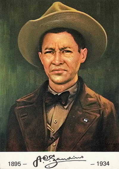 Image result for Augusto César Sandino